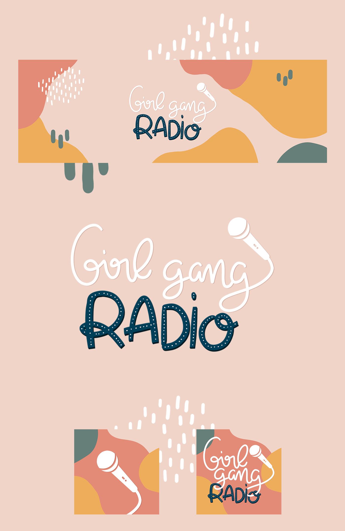 GirlGangRadioPortfolio